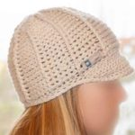 Mütze mit Schild häkeln
