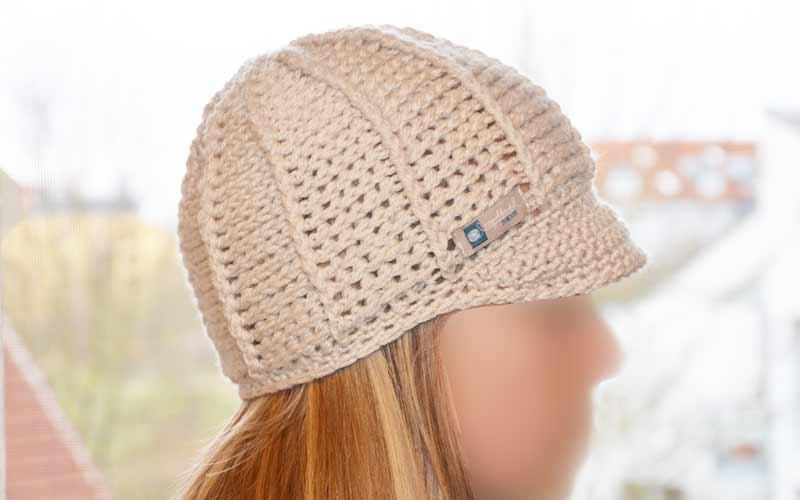 Mütze Mit Schild Häkeln Neue Strickideen
