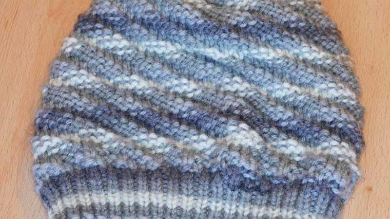 Mütze für Damen stricken